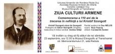 Zilele Culturii Armene la Cluj Napoca