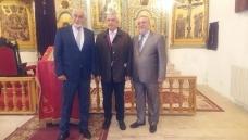Vizita domnului Călin Popescu Tăriceanu, Președintele Senatului României, la Biserica Armeană din Iași