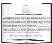 Comemorarea Genocidului armean la Iasi!